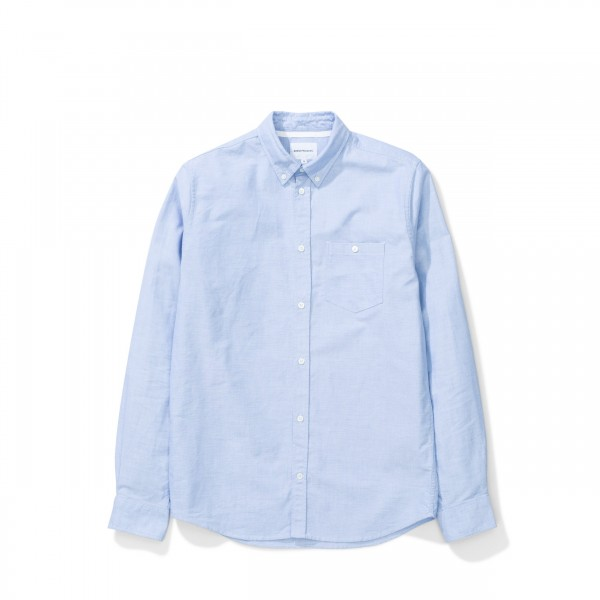 Norse Projects Anton Oxford Pale Blue N40-0456 7105
