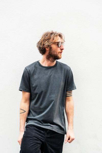 Crossley HUNTC Man S/S T-Shirt Dark Grey