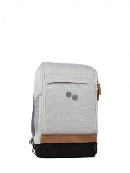 pinqponq Backpack Cubik Medium Grey Melange DLX PPC-BME-002-818