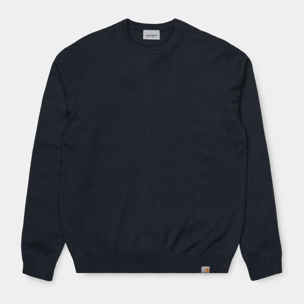Carhartt WIP Playoff Sweater Dark Navy (Winter) I023776_1C_00