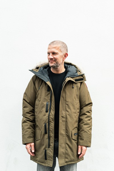 Canada Goose Langford Parka Military Green.