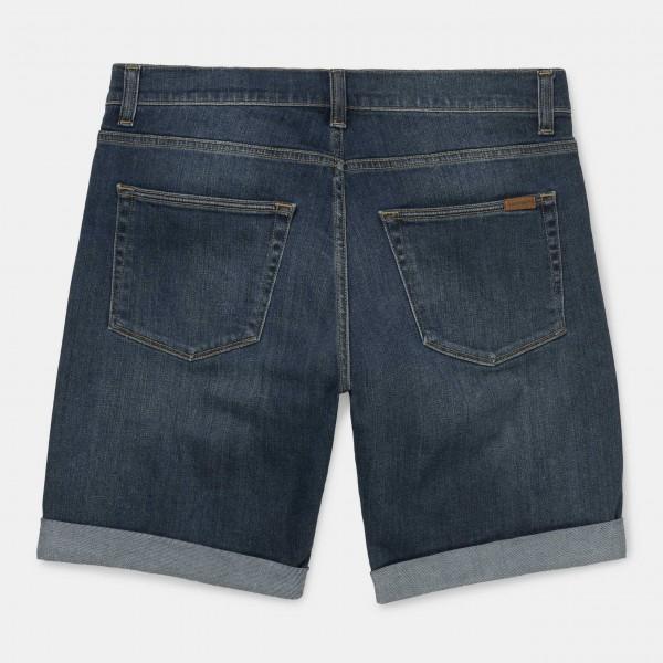 Carhartt WIP Swell Short Blue Dark Worn Washed Herren i02327,01,wv