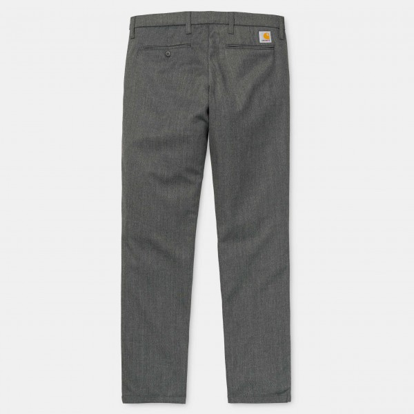 Carhartt Sid Pant Wolle Polyester Lycra Grey Heather i023983,v6,00
