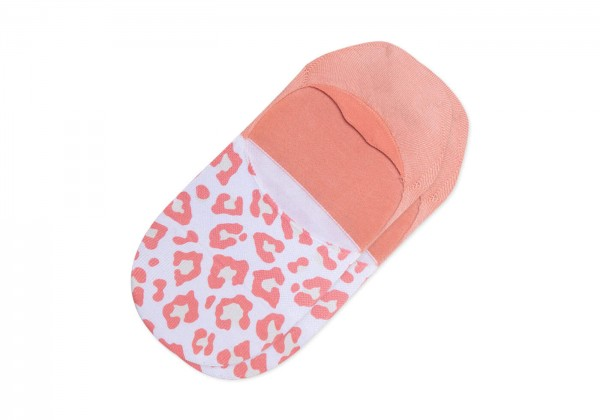 TOMS Womens Ultimate No Show Socks Pink Leopard 10017492