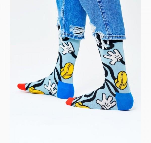 Happy Socks Men's Disney Mickey Stretch Sock Lightblue 41-46 DNY01-6000