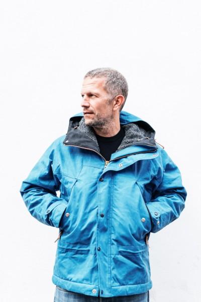 Manifattura Ceccarelli Mountain Jacket Mid Blue 7003 WX
