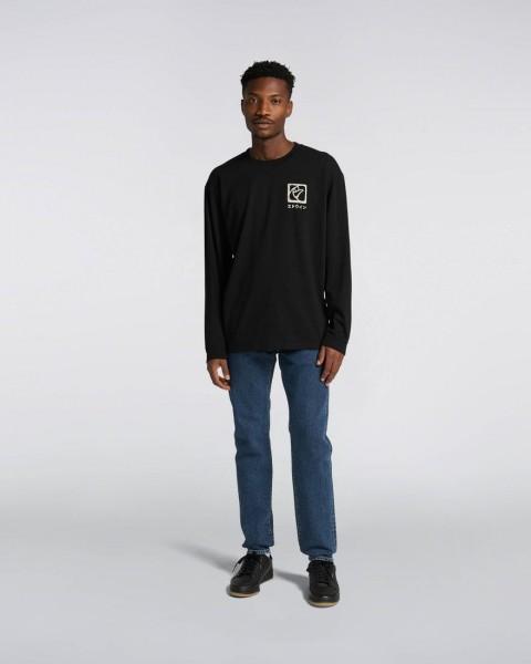 Edwin Hanani T-Shirt LS Black I029879.89.67.03