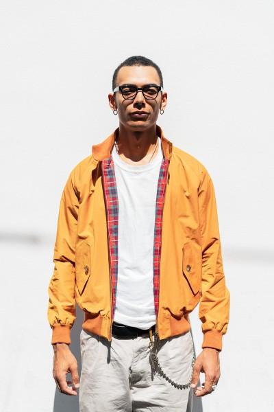 Baracuta G9 Jacket Autumn Orange