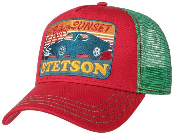 Stetson Trucker Cap Sunset Red 7751156 84