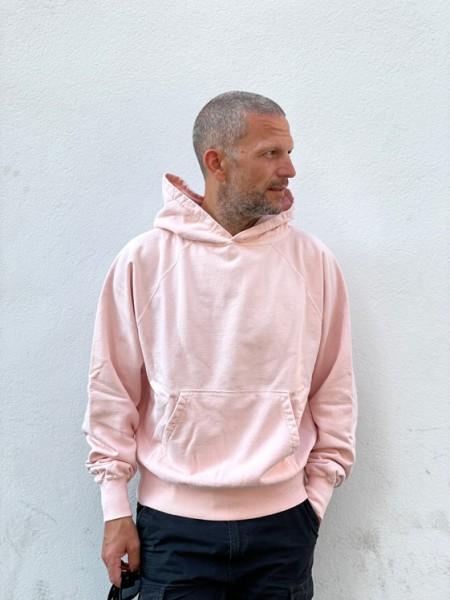 Edwin Raglan-Sleeve Hood Maruva Sakura dye + ozone