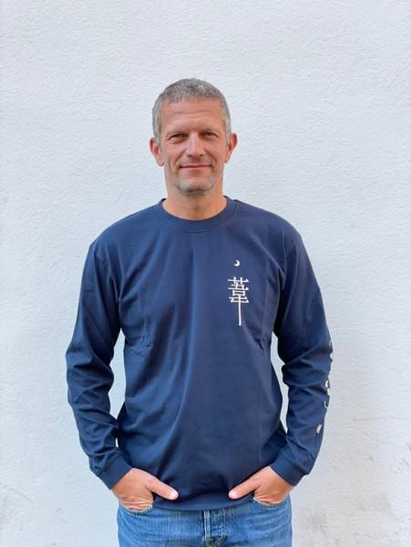 Edwin Dream Diaries II T-Shirt LS Navy Blazer