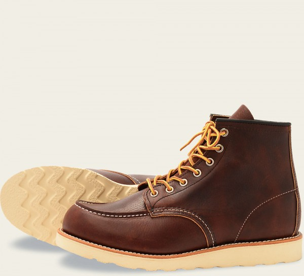 Red Wing 8138 Moc Toe 6 Inch