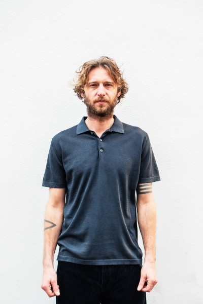 Crossley WOTC Man Knit Polo S/S Dark Navy