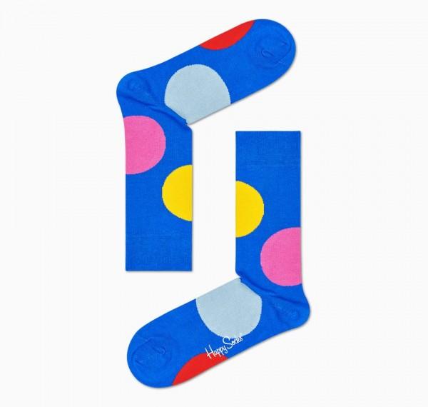 Happy Socks Women's Jumbo Dot Sock Blue 36-40 JUB01-6300