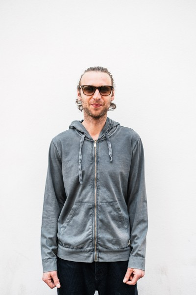 Crossley Man LS SOTY Sweater Hoodie Grey SOTY 1020C