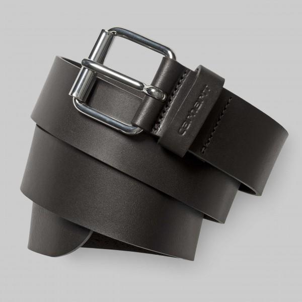 Carhartt Script Belt Cow Leather Tobacco/Silver I003003.47.90.03