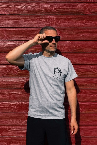 Arnold's Arnie T-Shirt Grey Black