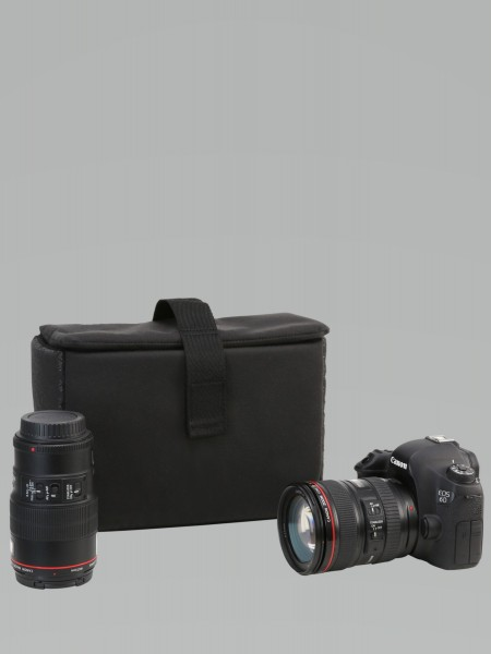 pinqponq Klick Large Camerabag Rooted Black PPC-CAM-001-801C