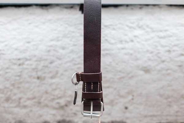 Dukes Belt Dark Brown 9613205