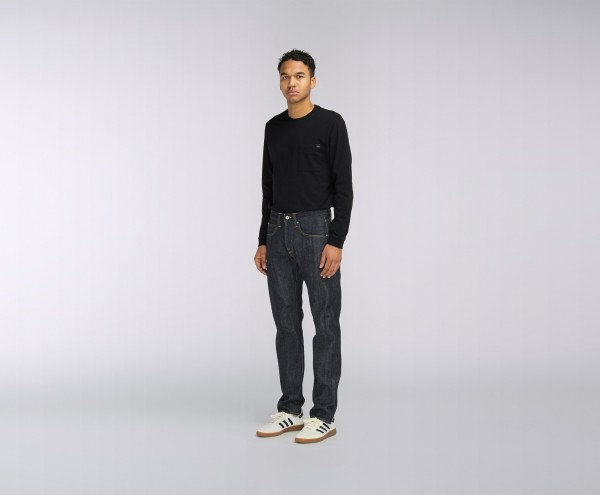 Edwin ED-55 Red Listed Selvedge Denim Blue Unwashed i022482,01,99