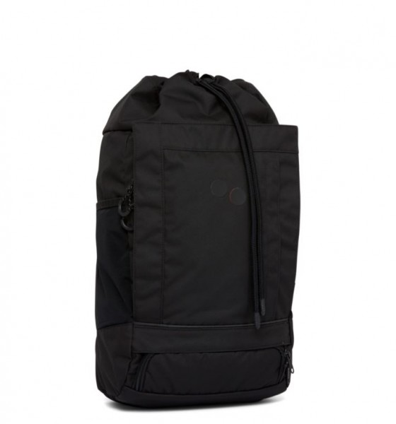 pinqponq Backpack Blok Medium Rooted Black PPC-BLM-001-801C