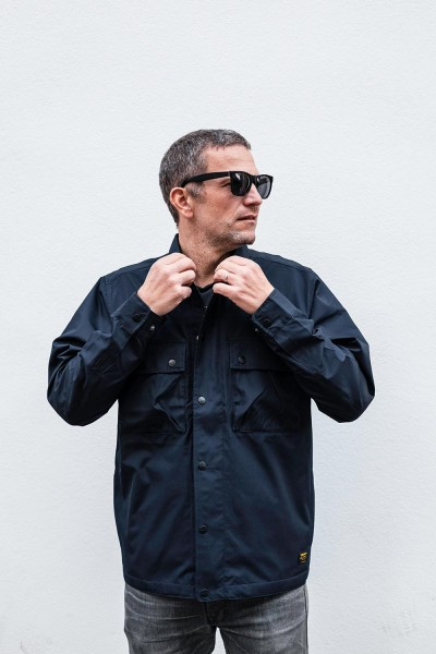 Carhartt WIP Fargo Shirt Jacket dark navy Herren I027046,1C