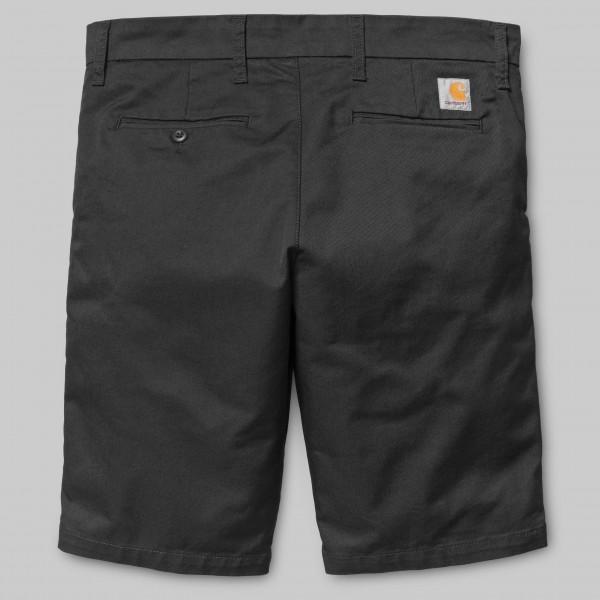 Carhartt WIP Sid Short Black Rinsed Herren i027956,89,02