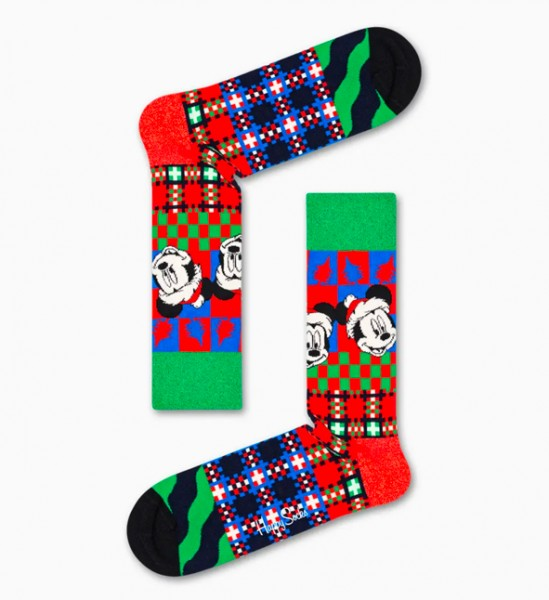 Happy Socks Men's Disney ET is the Season Socks Red