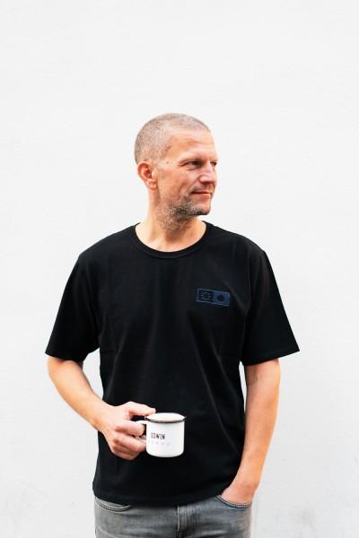 Edwin Synergy Chest T-Shirt Black Garment Washed i029333,89,67,03