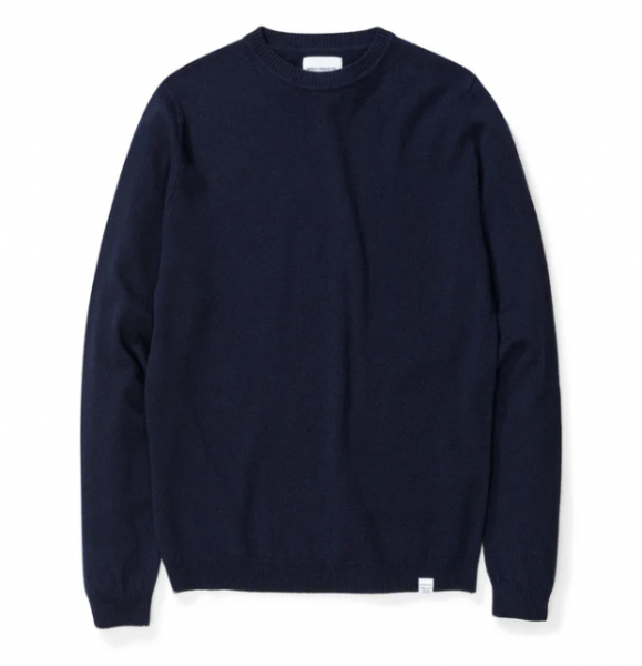 Norse Projects Sigfried Light Wool Dark Navy N45-0416 7004