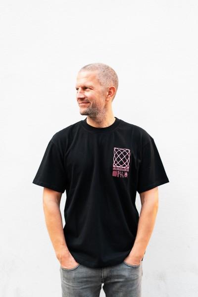 Edwin Shinjuku Savage T-Shirt Black Garment Washed i029331,89,67,03