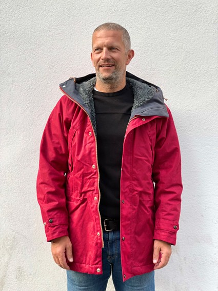 Manifattura Ceccarelli Long Mountain Jacket Rot 21 Herren