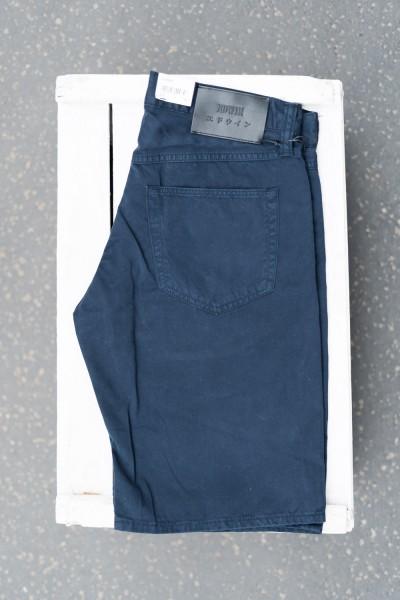 Edwin 55 Bermuda PFD Light Cotton Twill Navy Blazer Garment Dye i029310,nyb,gd,00