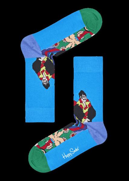 Happy-Socks-Mens-The-Beatles-Socks-Kahki-41-465a1559e8e37d4