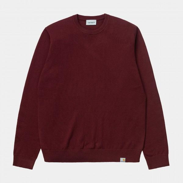 Carhartt WIP Playoff Sweater Bordeaux (Winter) I023776_JD_00
