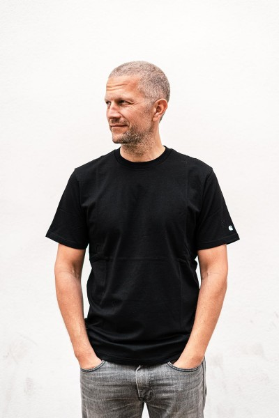 Carhartt WIP Base T-Shirt Black White i012176.89.90.03