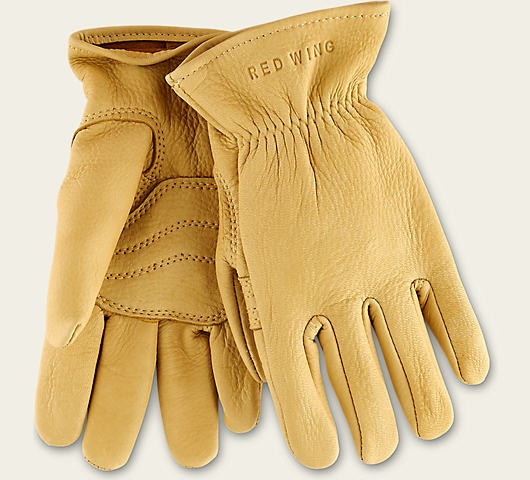 Red Wing 95233 Gloves Yellow Deer Skin