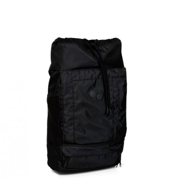 pinqponq Backpack Blok Medium Polished Black PPC.BBE-001-801D