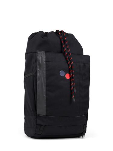 pinqponq Backpack Blok Medium Licorice Black PPC-BLM-002-801