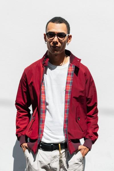 Baracuta G9 Jacket Tawny Port Red