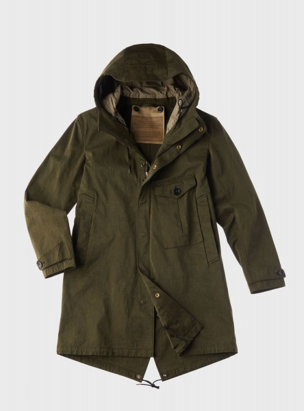Ten c Cyclone Parka Green Forest 17CTCUK0 4058 002105 659