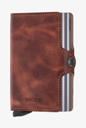 Secrid Twinwallet Vintage Braun