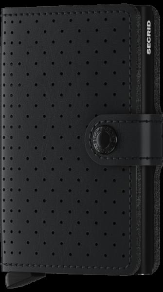 Secrid Miniwallet Perforated Schwarz