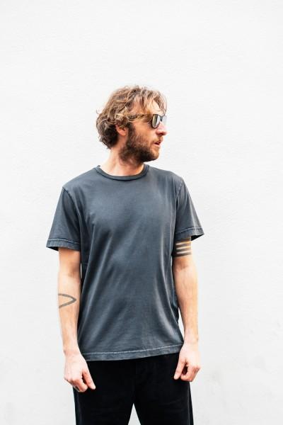 Crossley HUNTC Man S/S T-Shirt Dark Navy