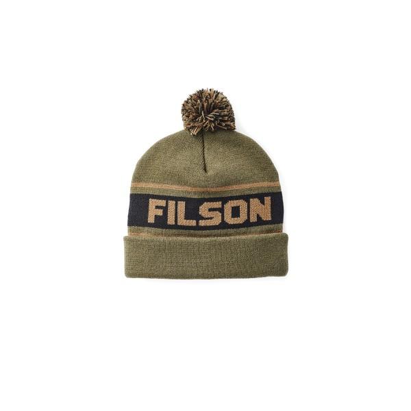 Filson Acrylic Logo Beanie Army Green 20120734