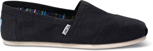 TOMS Mens Black Canvas 10000862