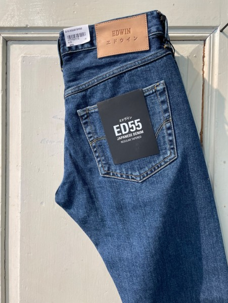 Edwin ED-55 Yoshiko Left Hand Denim Blue aki wash 12,6oz I025957_01_KX