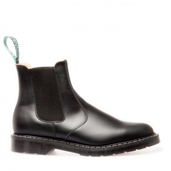 Solovair Dealer Boot Black high shine