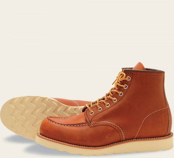Red WIng 875 Moc Toe 6 Inch