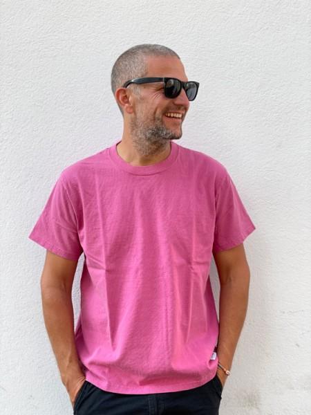Edwin T-Shirt Cotton Maruwa Bo Tan dye + ozone